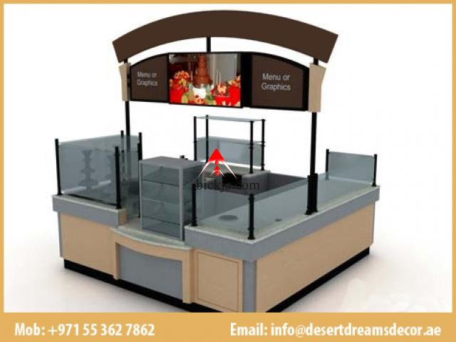 Exhibition Kiosk Dubai | Wooden Kiosk | Design and Manufacturing Mall Kiosk in Uae. - 2/3
