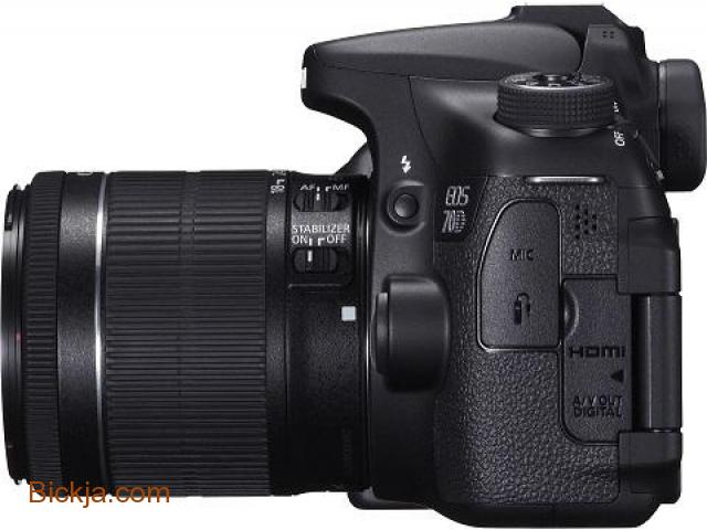 Canon 70D EOS (EF-S18-55) 20.2mp  Digital SLR Camera - 1/3