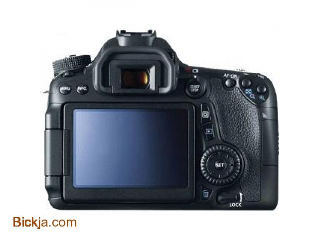 Canon 70D EOS (EF-S18-55) 20.2mp  Digital SLR Camera - 2/3