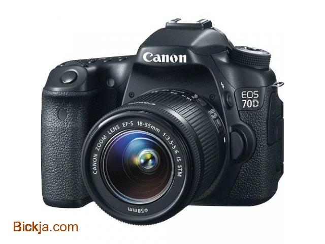Canon 70D EOS (EF-S18-55) 20.2mp  Digital SLR Camera - 3/3