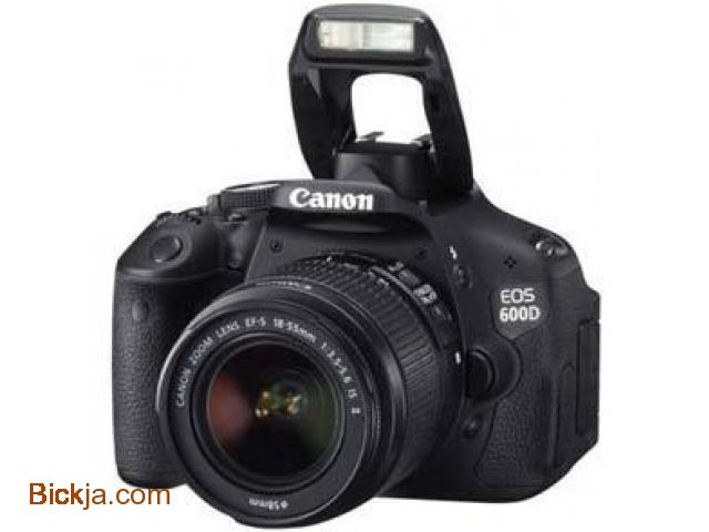 Canon 600D Kit with 18.55 mm Lens - 1/3
