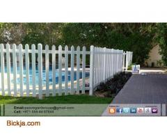 Picket Fence Dubai | Wooden fence Sharjah | garden fence Suppliers And Install in Uae