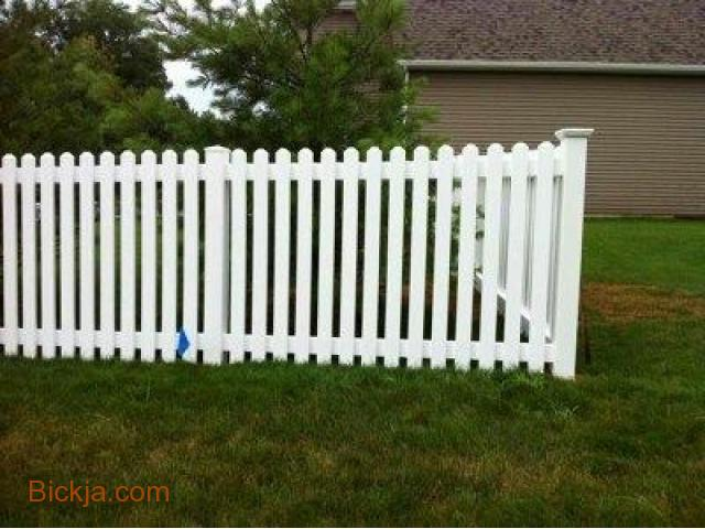 Wooden gates And fence | picket fence Abu Dhabi | Creative Fences manufacturer In uae - 2/4