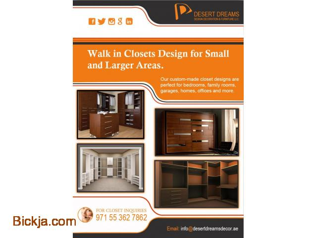 Walk in Closets Dubai | Creative Closets in UAE. - 1/1