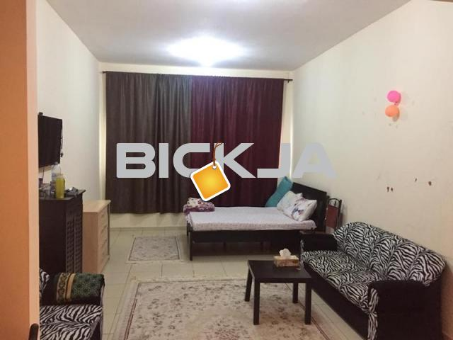 studio for rent with full furniture and internet in ajman - 1/1