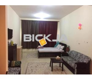 studio for rent with full furniture and internet in ajman