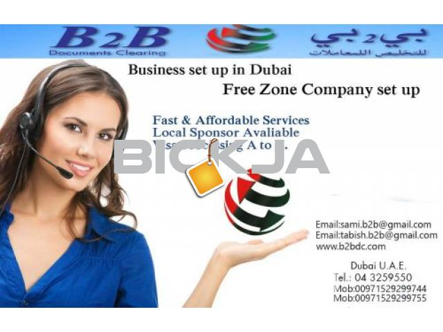 PRO Services, New / Renew Trade License, Visa Processing, Ijari, WPS Dubai - 1/1