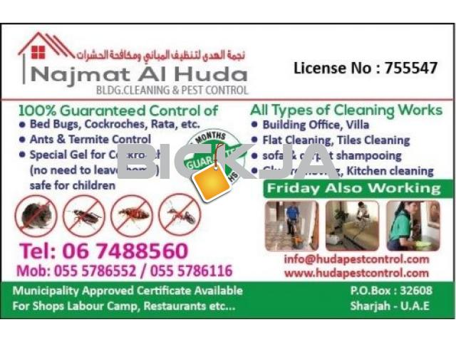 Pest Control Service @ affordable price @ AED 99* only - 1/1