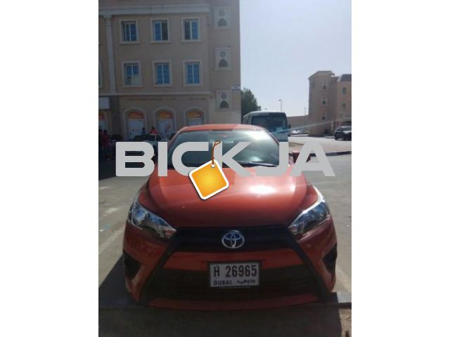 Best deal! Toyota Yaris 2015 , only 33000 km Usage - 1/1