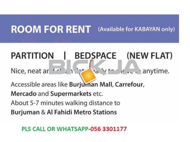 ROOMS,PARTITION AND BED SPACE FOR KABAYAN - 1/1