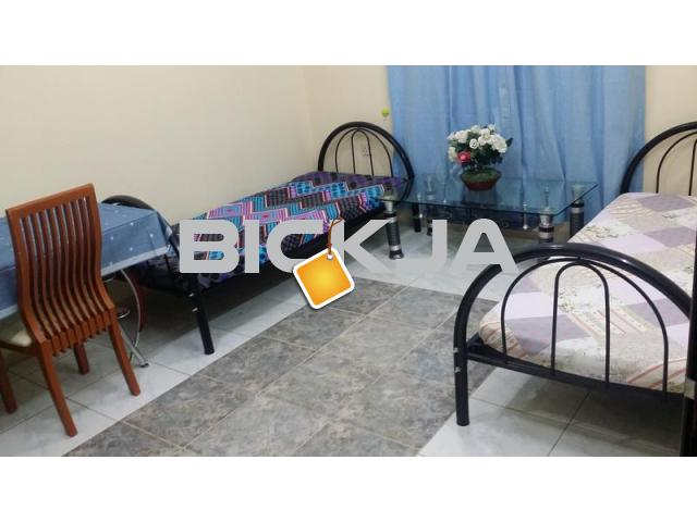 Fully furnished  Room /Bed space at Butina, for executive ladies or couple ////Only Two in one Room - 1/1