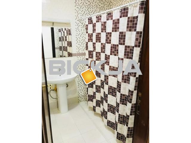 HUGE FURNISHED STUDIO FOR RENT WITH FREE PARKING AT ALMANSSER NEAR ALBATEEN SHCOOL FOR 1 OR 2 PERSON - 1/1