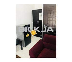 FULLY FURNISHED ROOM FOR RENT FOR 1 PERSON AT KHALIDYA NEAR ETISALAT BRANCH IN CLEAN FLAT