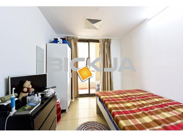 BIG HUGE ROOM WITH BALCONY FOR RENT NOW JBR - 1/1