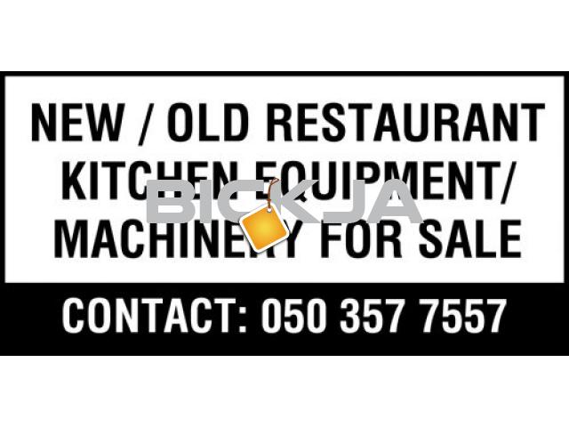 NEW / OLD RESTAURANT KITCHEN EQUIPMENT /  MACHINERY FOR SALE - 1/1