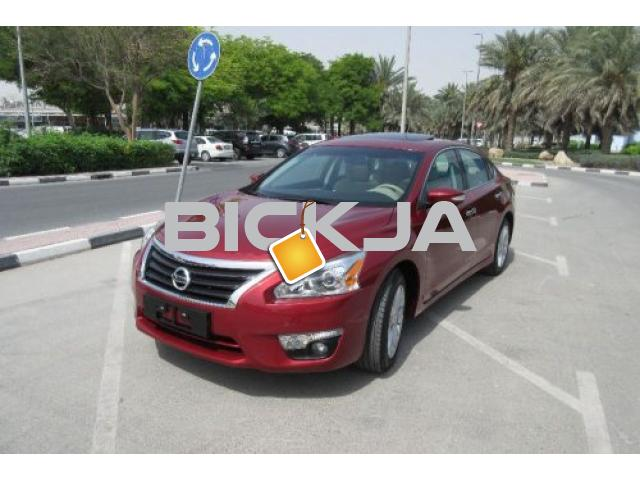 NISSAN ALTIMA 2015 FULL OPTION FOR SALE-100% BANK LOAN AVAILABLE - 1/1