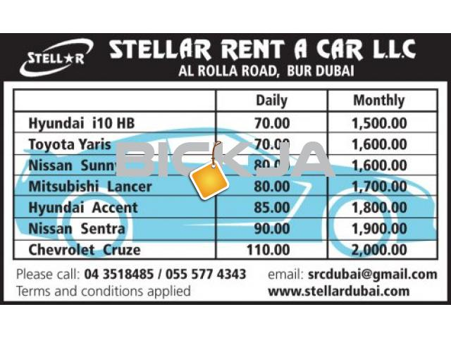STELLAR RENT A CAR LLC - 1/1