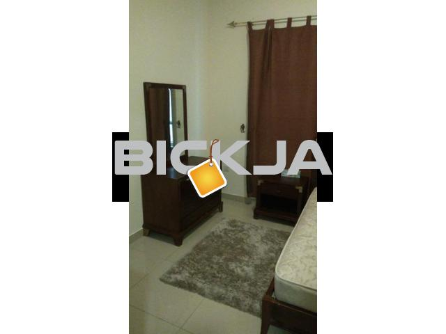 FURNISHED ROOM WITH ATTACH BATH FOR COUPLES,EXECUTIVES MALE/FEMALE AVAILABLE IN AL KHAN and  MAJAZ 3 - 1/1