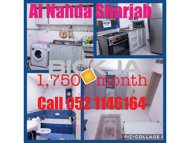 Room available to rent at al nahda opposite sahara center - 1/1