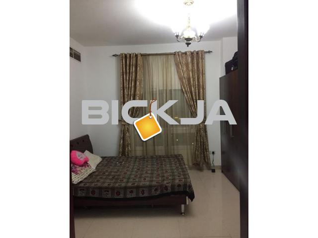 Fully furnished master bed room available for family in 2bhk - 1/1