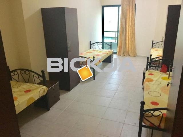 Wonderful bed space in fully furnished room in Tecom close to DIC Metro 1300 AED Overall - 1/1