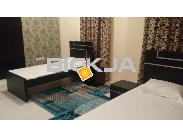 FULLY FURNISHED BED SPACE AND MAID ROOM FOR RENT BACHELORS - 1/1