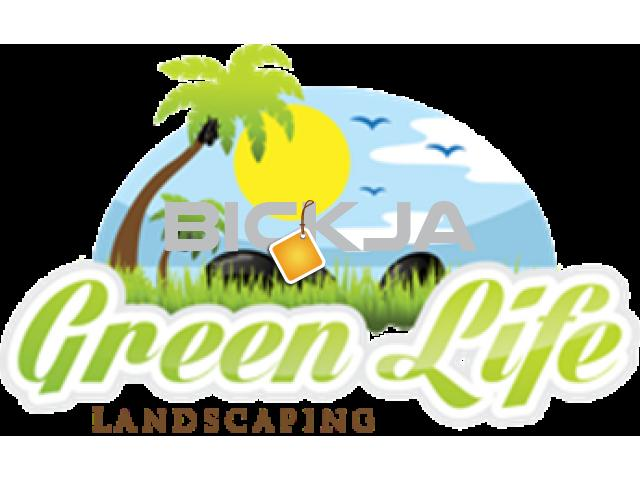 GREEN LIFE LANDSCAPING SERVICES FOR VILLAS AND BUILDING, FACTORY - 1/1