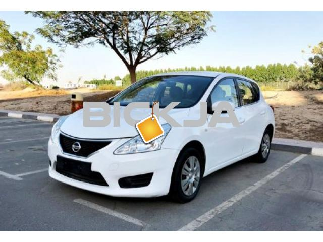 Nissan Tiida 2014 | Mechanically Perfect | Mint Condition | EMI 440 x 60 | 0% D.P, GCC - 1/1