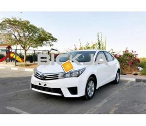 Toyota Corolla 2014 SE 2.0L | GCC | Accident Free | Mint Condition | EMI 600 x 60 @ 0 % D.P