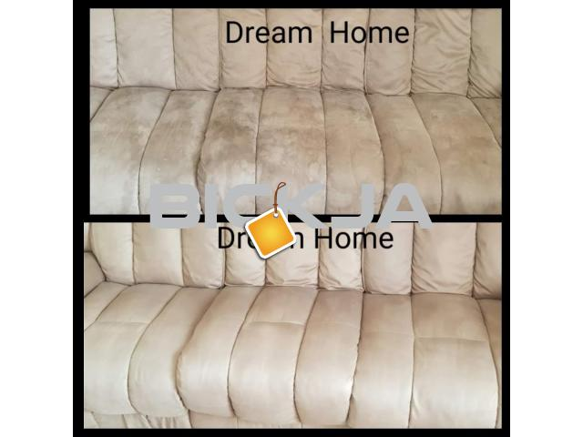 STEAM CLEANING SOFA CARPET COUCHES RUGS DUBAI -0557320208 - 1/1