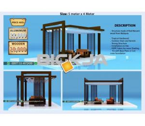Wooden Pergola Suppliers In AbU Dhabi | Wooden Pergola 4 x 4 Size | Pergola In Dubai