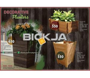 Wooden Planters Manufacturer In Dubai | Wooden Container For Plant | Wooden Planters Abu Dhabi