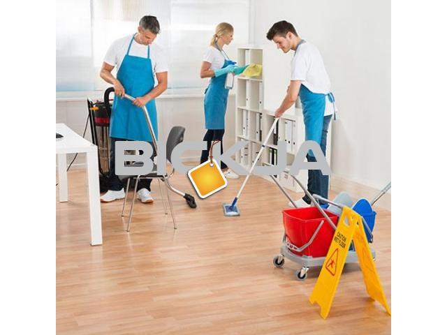 Cleaning Services Business Bay, Cleaning Company UAE, Maids Services Dubai Investment Park - 1/4