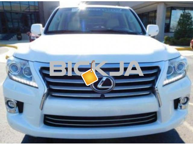 LEXUS LX 570 2014, NO ACCIDENT, WITH FULL WARRANTY - 1/4