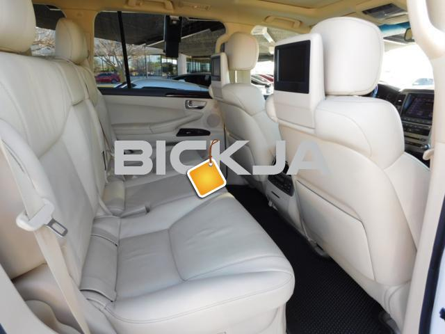 LEXUS LX 570 2014, NO ACCIDENT, WITH FULL WARRANTY - 3/4