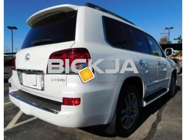 LEXUS LX 570 2014, NO ACCIDENT, WITH FULL WARRANTY - 4/4