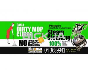 Residential Move-in/out Deep/Steam Cleaning services in Dubai