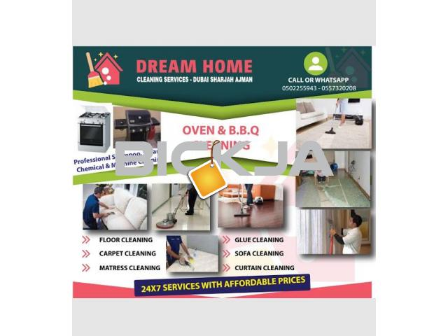 CLEANING MATTRESS CARPET SOFA CURTAINS shampooing services - 1/1