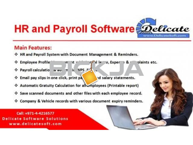 HR Payroll Software with Gratuity Calculation - 1/2