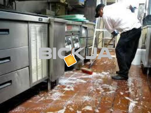 RESTAURANT KITCHEN DEEP CLEANING SERVICES IN LAMER-0545832228 - 1/3