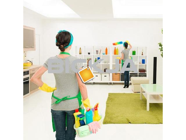 Home Maid Services, Good Housekeeping Service Dubai, home cleaning meadows - 1/4