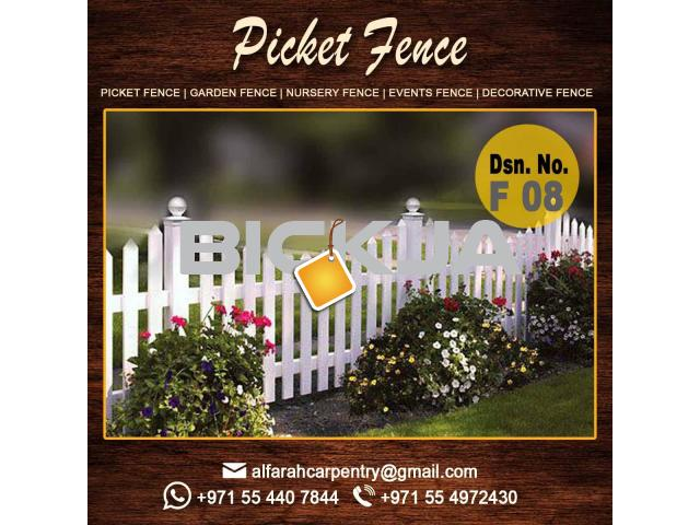 Composite Wooden fence | Privacy Wooden fence Suppliers Dubai | Wooden fence Abu Dhabi - 1/4