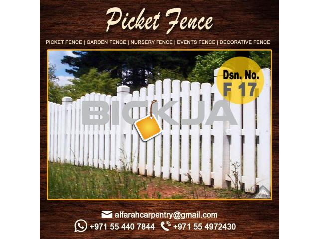 Composite Wooden fence | Privacy Wooden fence Suppliers Dubai | Wooden fence Abu Dhabi - 3/4