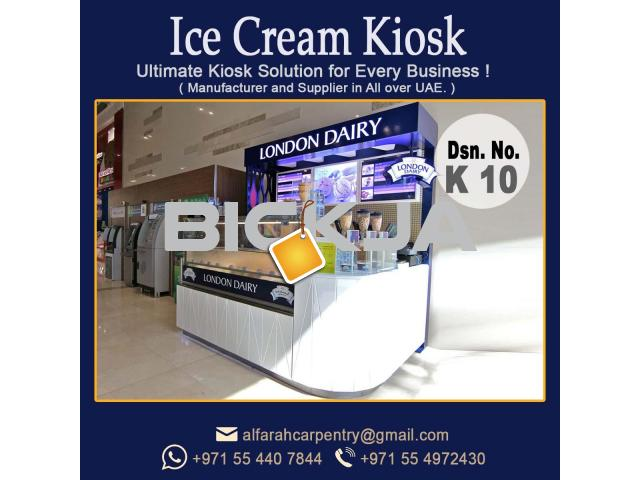 Ice Cream Kiosk for Mall Abu Dhabi | Kiosk In Al falah city | Kiosk Design Al Khaleej, Abu Dhabi - 4/4