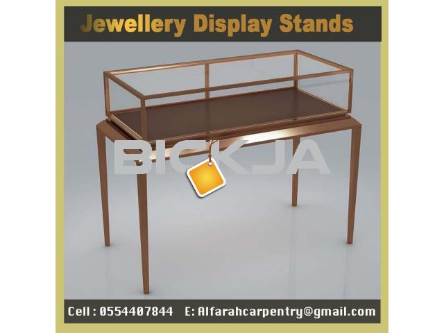 Wooden Display Stands Jumeirah | Jewelry Showcase for Events | Rent And Sell Display Stands Dubai - 1/4