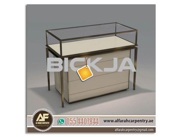 Rental Display Stands Dubai | Wooden Display Stand And Kiosk | Exhibition Stand Abu Dhabi - 3/4