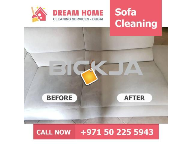 SOFA CARPET DEEP SHAMPOOING - 1/3
