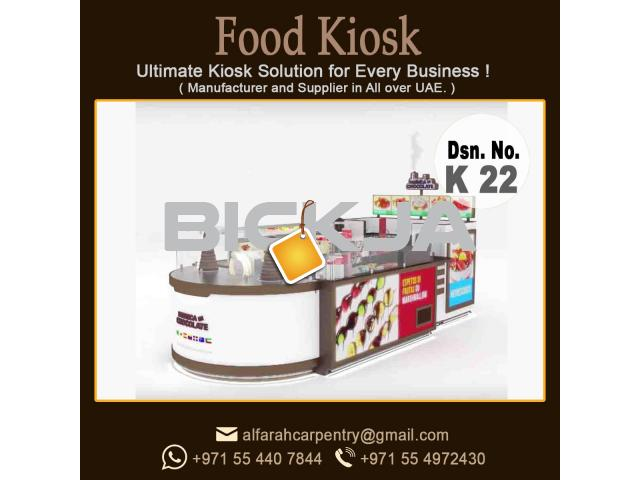 Design And Manufacturer Kiosk in Dubai | Mall kiosk UAE - 4/4