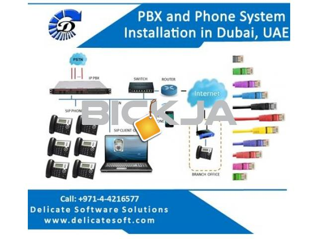 PBX and Telephone System Installation in Dubai, UAE - 1/1
