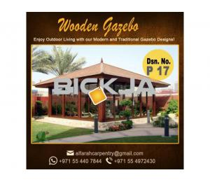 Wooden Gazebo Dubai | Gazebo Suppliers | Creative Gazebo